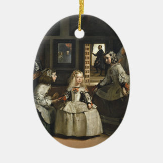 Las Meninas Diego Velázquez Fine Art Christmas Ornament