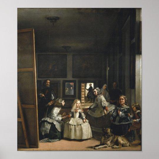 Las Meninas Diego Velázquez Fine Art Poster