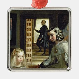 Las Meninas or The Family of Philip IV, c.1656 2 Christmas Ornament