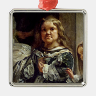 Las Meninas or The Family of Philip IV, c.1656 Christmas Ornament