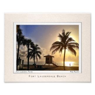 Las Olas by the Beach Art Photo