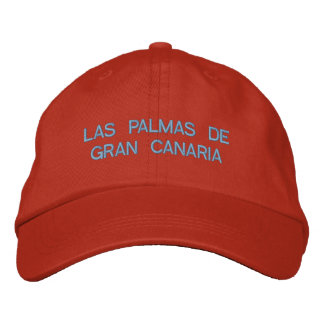 Las Palmas de Gran Canaria Embroidered Hat
