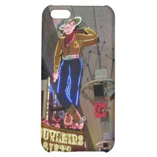 Las Vega Cowboy Neon Sign Case For iPhone 5C