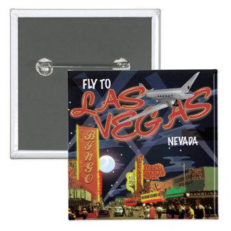 Las Vegas 15 Cm Square Badge