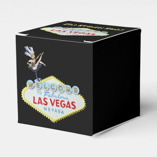Las Vegas 21st Birthday bash Favour Box