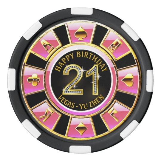 Las Vegas 21st Birthday Casino | pink black