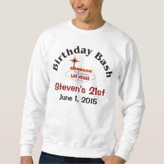 Las Vegas 21st Birthday Male Sweatshirt