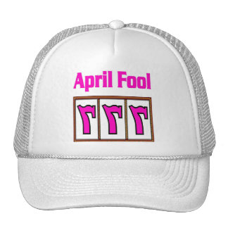 Las Vegas 777 April Fool HOT PINK Cap