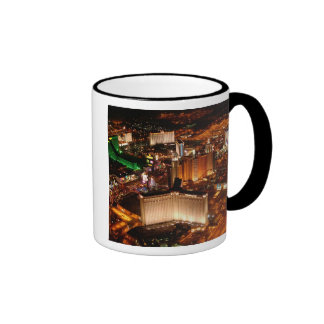 Las Vegas aerial view from a blimp Coffee Mugs