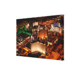 Las Vegas aerial view from a blimp Gallery Wrap Canvas