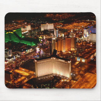 Las Vegas aerial view from a blimp Mouse Mat