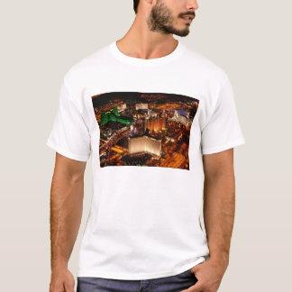 Las Vegas aerial view from a blimp T-Shirt