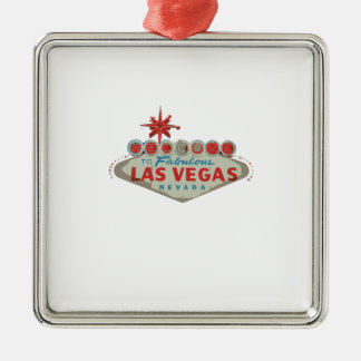 las vegas.ai christmas ornament