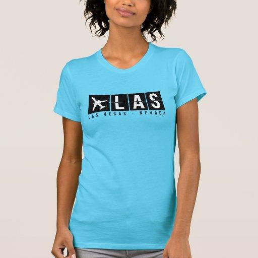 Las Vegas Airport Code Shirt