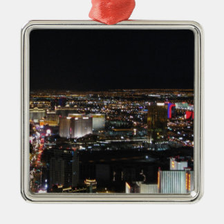 Las Vegas at Night Christmas Ornament
