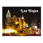 Las Vegas at Night Postcard!