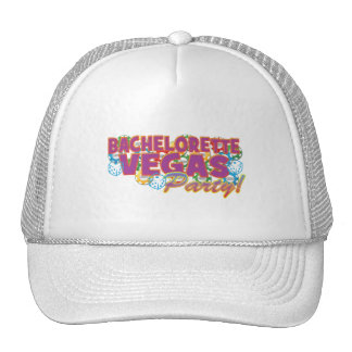 Las Vegas bachelorette wedding bridal shower party Mesh Hat