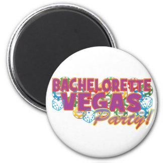 Las Vegas bachelorette wedding bridal shower party Magnet