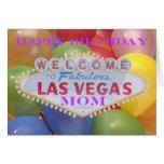 Las Vegas Balloons! Happy Birthday MOM Card