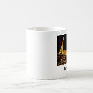 Las Vegas Basic White Mug