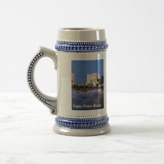 Las Vegas Beer Stein Mug