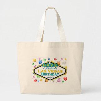 Las Vegas Birthday Bag! Large Tote Bag