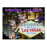Las Vegas Boulevard and Showgirl art