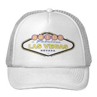 Las Vegas BRIDE Brown Polka Dots Cap Trucker Hat