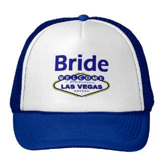 Las Vegas Bride Cap in Blue! Hats
