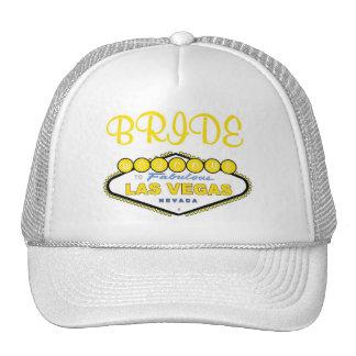 Las Vegas BRIDE Cap Trucker Hat