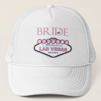 LAS VEGAS BRIDE Hat