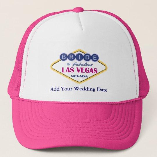 Las Vegas Bride Hat. Cap