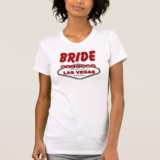 Las Vegas BRIDE Ladies AA Reversible Sheer Top T-shirt