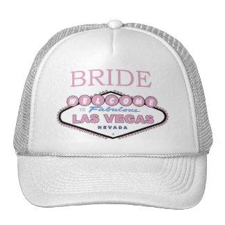 Las Vegas BRIDE Rose Color Cap! Trucker Hat