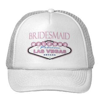 Las Vegas BRIDESMAID Cap Trucker Hats