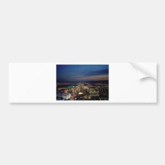 Las Vegas by Night 2 Bumper Sticker