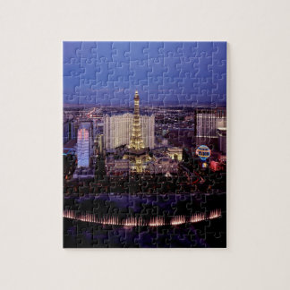 Las Vegas by Night 3 Jigsaw Puzzle
