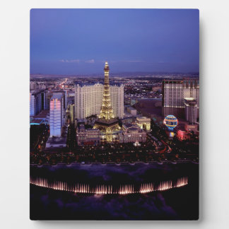 Las Vegas by Night 3 Plaque