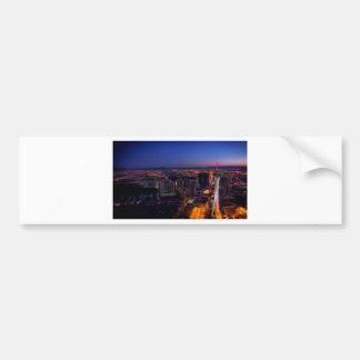 Las Vegas by Night 5 Bumper Sticker