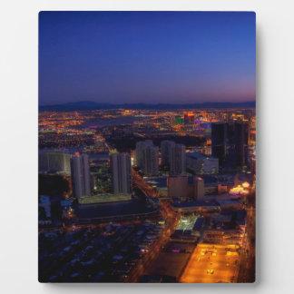 Las Vegas by Night 5 Plaque