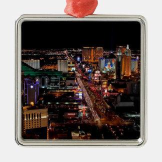 Las Vegas by Night Christmas Ornament