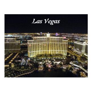 Las Vegas by night Postcard
