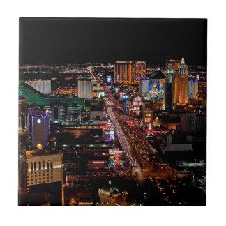 Las Vegas by Night Tile