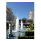 Las Vegas Caesars Palace Fountain Fountains Postcard