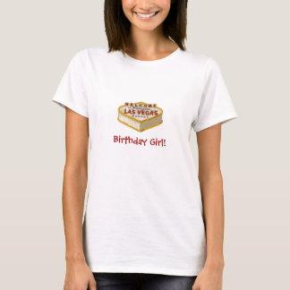 Las Vegas Cake Birthday Girl! Baby Doll Tee