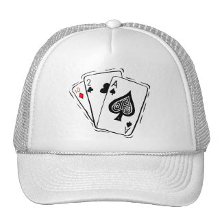 Las Vegas Card Deck Mesh Hat