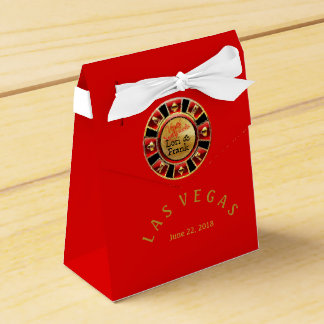 Las Vegas casino chip Favour Box