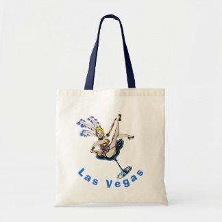 Las Vegas Casino Showgirl Souvenir Tote Bag