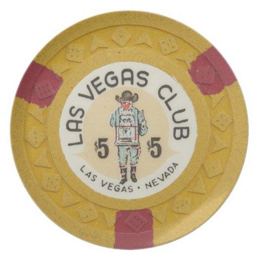 Antique casino poker chips