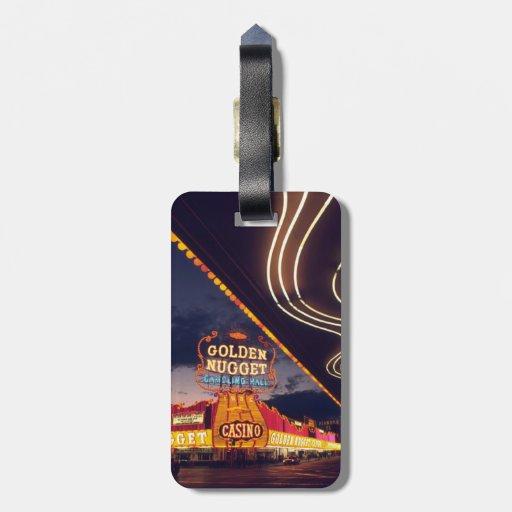 Las Vegas Casinos Bag Tags